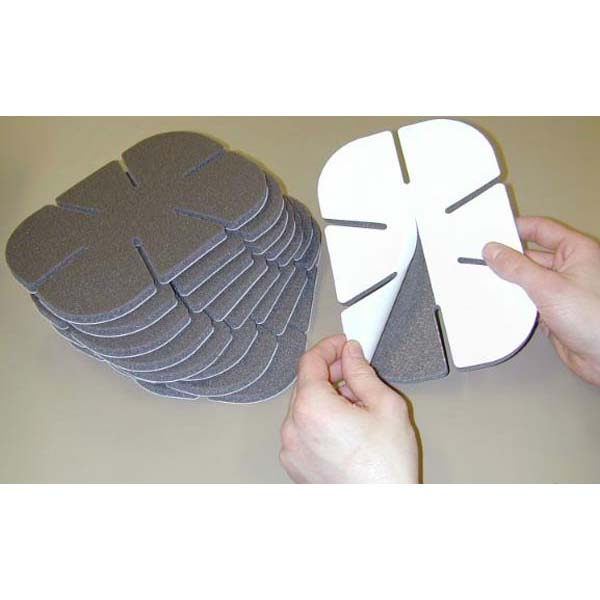 SoftKnees Disposable Knee Pads Self-Adhesive Backing