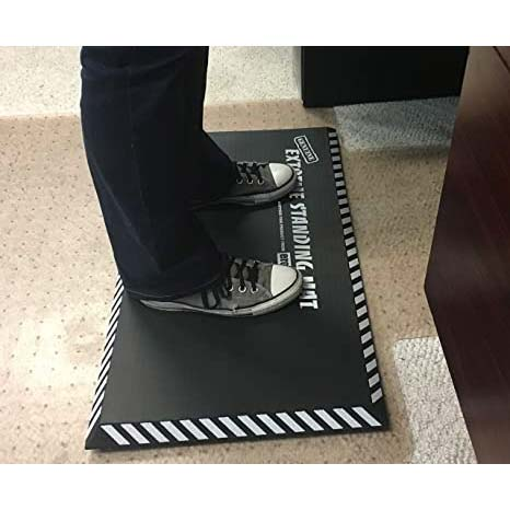 Extreme Standing Mat in Office Gray